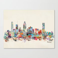 Montreal Quebec skyline Canvas Print