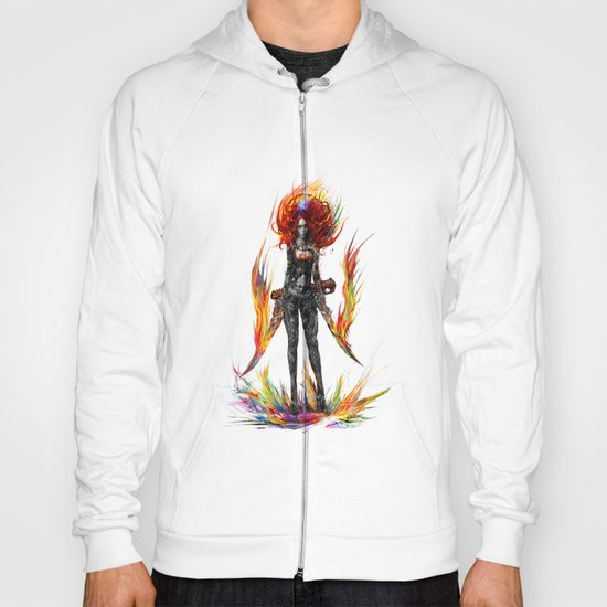color attack Hoody