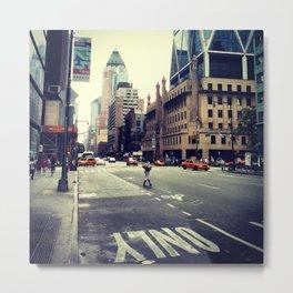 ny street  Metal Print