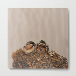 The Runt Metal Print