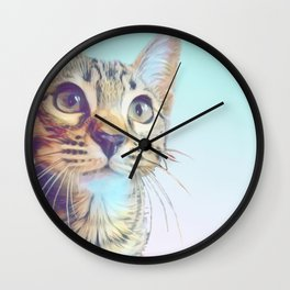 Gouda Blue Wall Clock