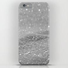 Glitter Silver Slim Case iPhone 6 Plus