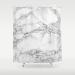 Marble Shower Curtain