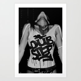 Dub Step. Art Print