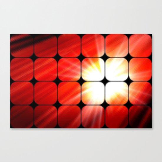 Windows as the sun. Canvas Print