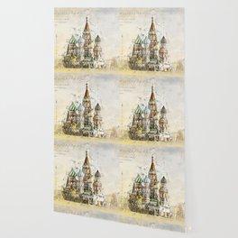 Saint Basil, Moscow Russia Wallpaper