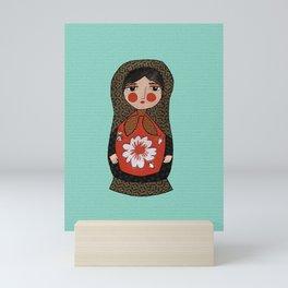 Stich & Fauna: Matryoshka Doll, Nesting Doll Mini Art Print