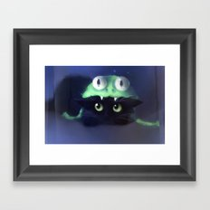 Team Frog Framed Art Print