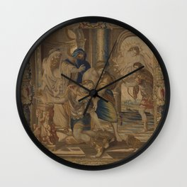 The Death of Achilles Wall Clock