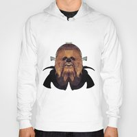 chewbacca Hoodies featuring Chewbacca by lazylaves