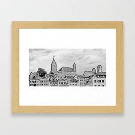 Rapperswil Castle 2 Framed Art Print