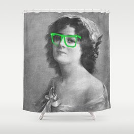 Josephine is a Hipster Shower Curtain