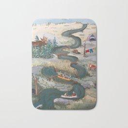 Canoeing Bath Mat
