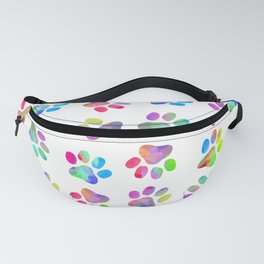 Puppy Paw Print Fanny Pack