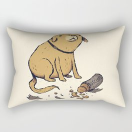 guilty dog Rectangular Pillow