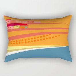 Rosarito Seashore Rectangular Pillow
