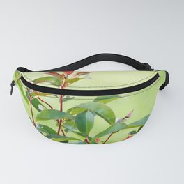 Greenery and red Fanny Pack
