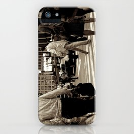 New York City _Rush hour iPhone Case