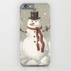 Christmas Snowman  Slim Case iPhone 6