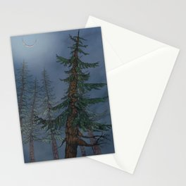 Forest Moonlight Stationery Cards