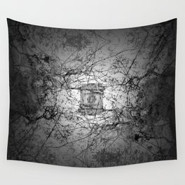 Who's to say edifice construction is instrinsical? Wall Tapestry