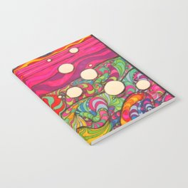 Psychadelic Illustration Notebook