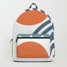 Shapes - Primary Colors Backpack