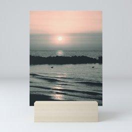 Sunset Ocean Bliss #4 #nature #art #society6 Mini Art Print