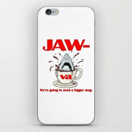 Jaw-va iPhone Skin