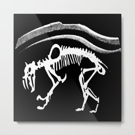 Sabretooth Metal Print