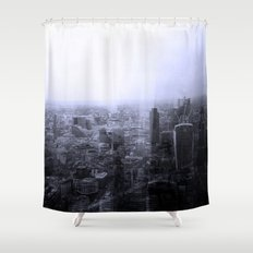 London Old vs New Shower Curtain
