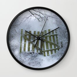 Off limits !! Wall Clock
