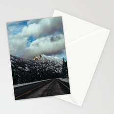 Driving in the North Cascades Stationery Cards