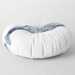 Mexico Grey whale Floor Pillow