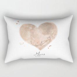 Mars in love Rectangular Pillow