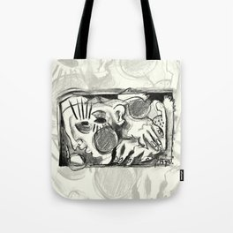 The Shaping of a Man Tote Bag
