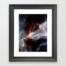 Dust, hydrogen, helium and other ionized gases Framed Art Print