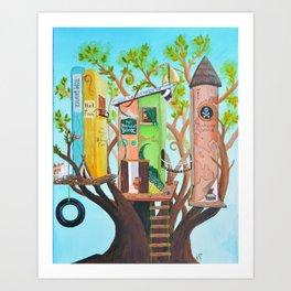 Boys' Life Art Print