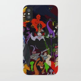 Villains Gallery iPhone Case