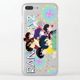 Ranma 1/2 Clear iPhone Case
