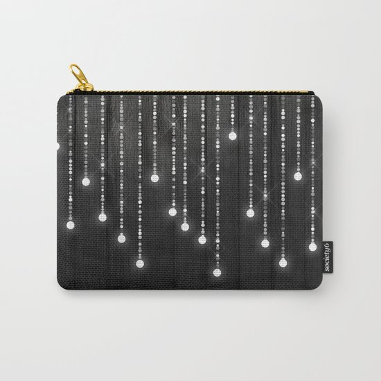 Fairy Lights on Wood 04 Carry-All Pouch