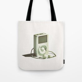 Lo-Fi goes 3D - Classic Music Player - first generation iPod Tote Bag