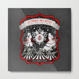The Night Circus Metal Print