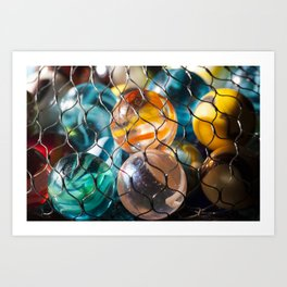 Found Your Marbles Art Print