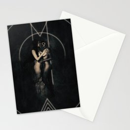 Love thy devil Stationery Cards