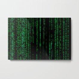 Code2 Metal Print