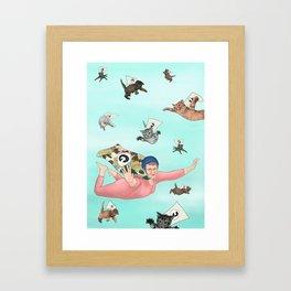 Super Grandma Framed Art Print