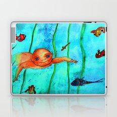 COMO PEZ EN EL AGUA Laptop & iPad Skin