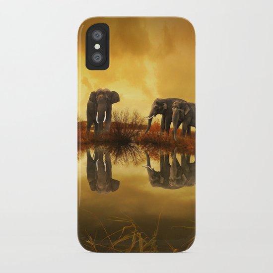 The Herd (Elephants) iPhone Case