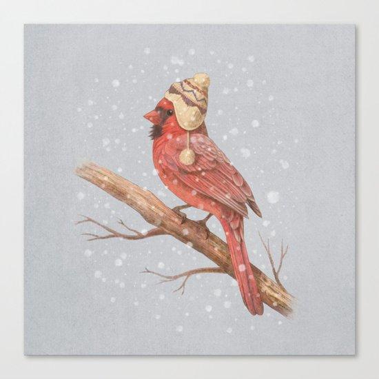 First Snow - colour option Canvas Print